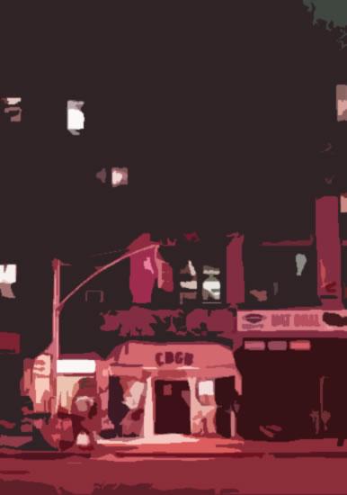 CBGB club exterior image