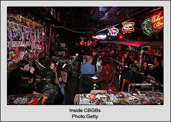 Inside CBGBs