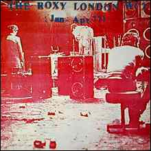 The Roxy London, live album, cover