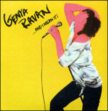 Genya Ravan 'And I Mean It' album cover image