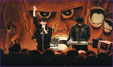 Soft Cell performing