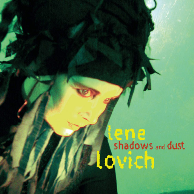 Album cover - Lene Lovich, Shadows and Dust