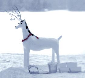 Toy reindeer