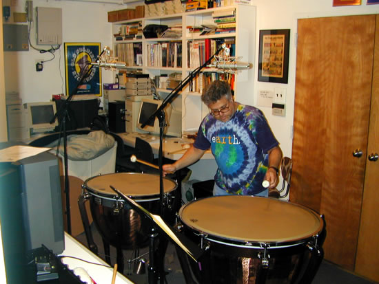 Tom Goldstein, percussion
