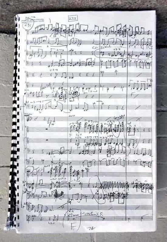 Universe Symphony score -  page 76