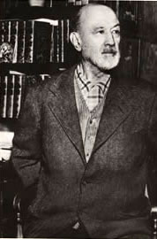 Charles Ives c1947, photo: Frank Gerratana courtesy Yale Music Library