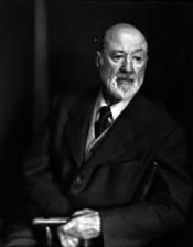 Charles Ives c1948. Photo: Clara Sipprell courtesy Yale Music Library