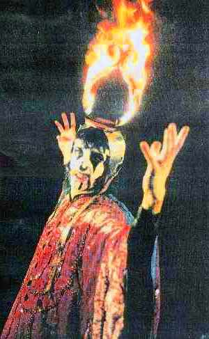Arthur Brown performing Fire