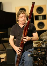 Reinhard playing bassoon