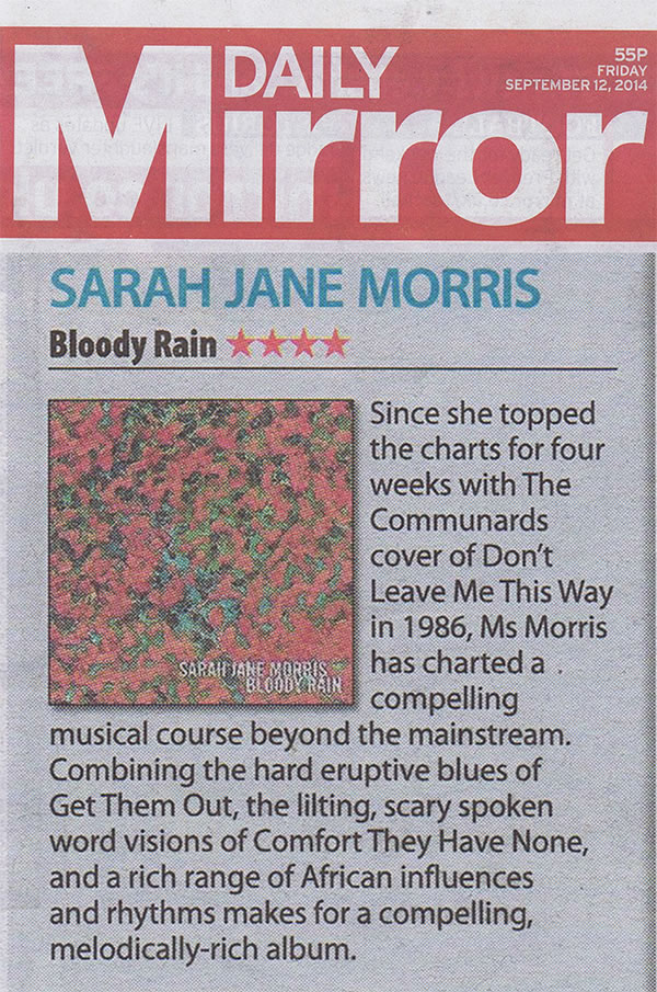 Daily Mirror album review