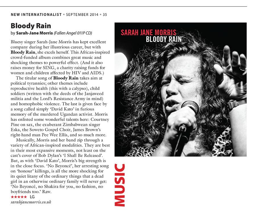 New Internationalist album review