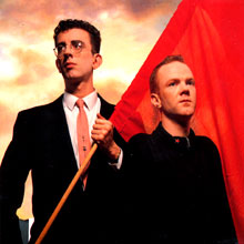 Richard Coles and Jimmy Somerville