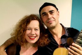 Sarah Jane Morris with Antonio Forcione