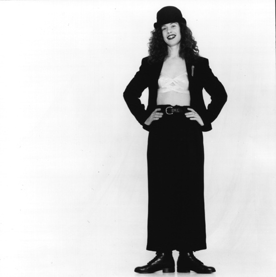 Promo shot for my first solo album called Sarah Jane Morris for Jive Records.