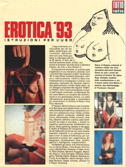 Poster for Erotica 1993