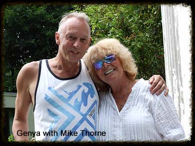 Genya with Mike Thorne