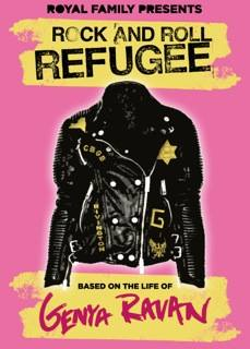 "'Rock And Roll Refugee"" poster"