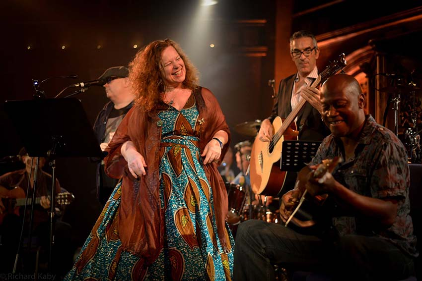 Sarah Jane Morris at the Union Chapel, September 2014
