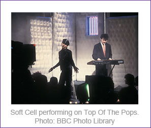Soft Cell performing on Top Of The Pops
