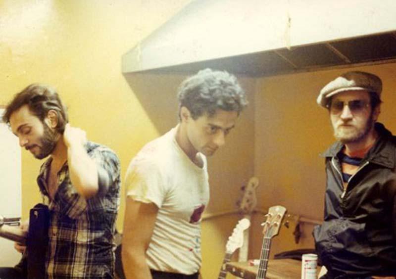Ronnie Ardito, Artie Lamonica and Robert Racioppo