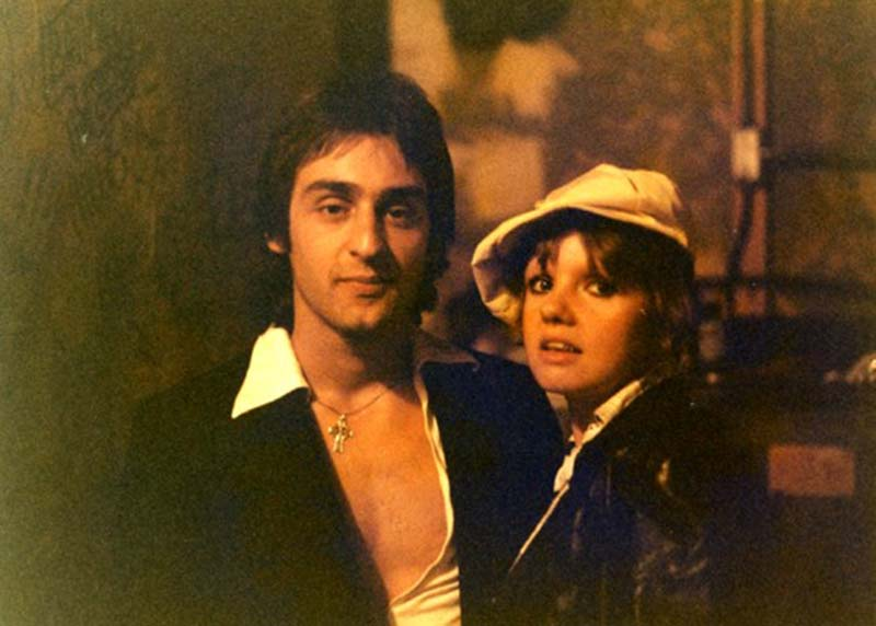 Johnny 'Doom' Piccolo and Annie Golden