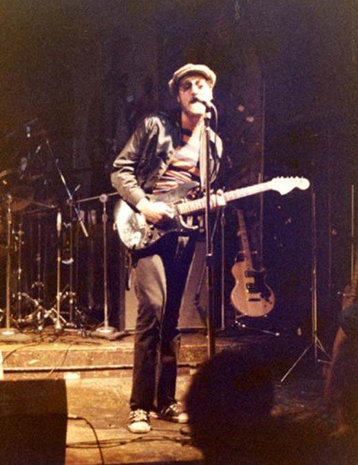 Artie Lamonica: sometimes the lead vocalist…
