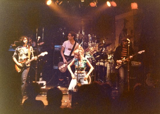 The Shirts on stage at CBGB, New York 1978
