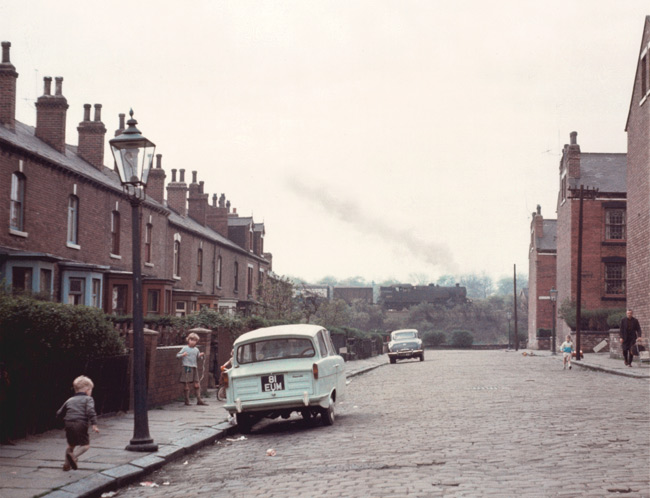 Grandma's Goodbye image: street scene from Armley, Leeds, UK