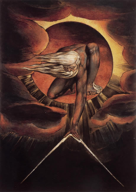 William Blake: The Ancient Of Days (c1824)