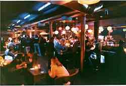 CBGB's basement bar