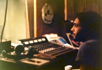 Ronnie Ardito in the studio