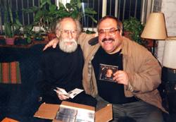 Jimmy with Emmanuel Ghent, electronic music pioneer