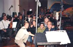 Jimmy with orchestra