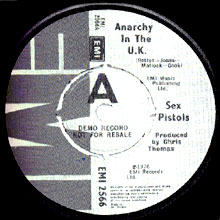 'Anarchy In The UK' single