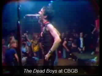 The Dead Boys at CBGB