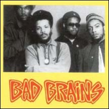 Bad Brains album back cover