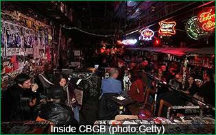 Inside CBGB