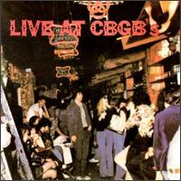 Live at CBGB's album cover