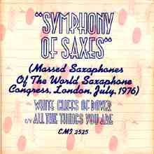 Symphony Of Saxes artwork