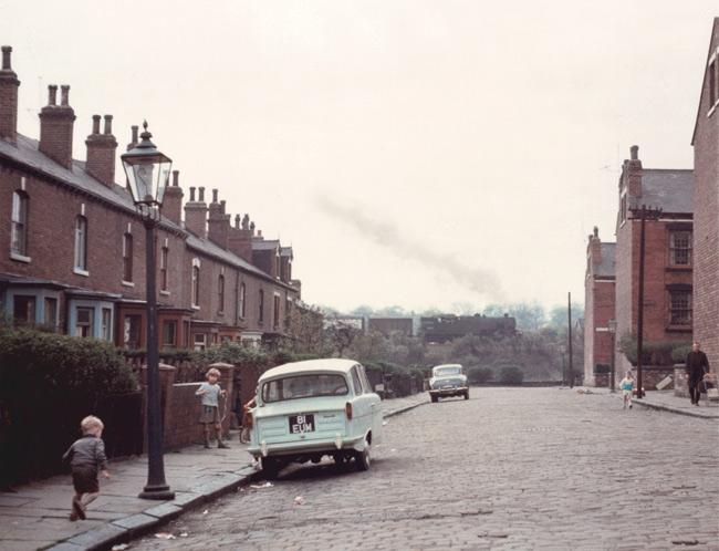 Street scene in Armley, Leeds, c 1966