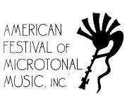 American Festival of Microtonal Music logo