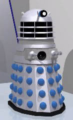 Dalek illustration by Graham Walters