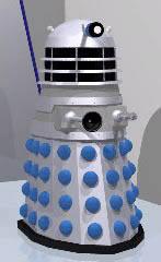 Dalek illustration by Graham Walters