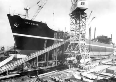 Sunderland shipyard photo