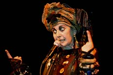 Lene Lovich performs at the Knitting Factory
