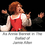 Sarah Jane Morris as Annie Bennet in The Ballad Of Jamie Allen