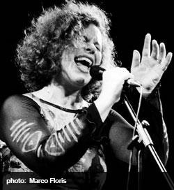 Sarah Jane Morris singing