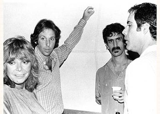 With Frank Zappa, Robert Klein and I dunno