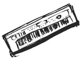 Sketch of keyboard