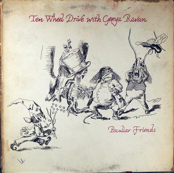 Peculiar Friends album cover